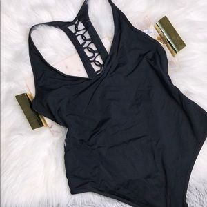 LSPACE BLACK ONE PIECE SWIMSUIT 12